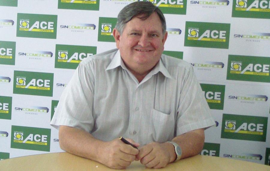 Diógenes Correa Leite, presidente da ACE Ourinhos